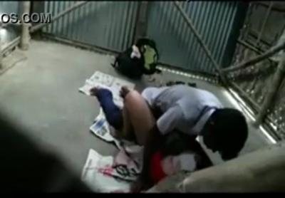 desi Indian teacher bang on her student at school