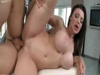 Wild Busty Horny Babe Asshole Banged