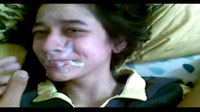 desi Desi girl Susmita eating cum