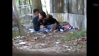 desi Manipuri girl sex in park