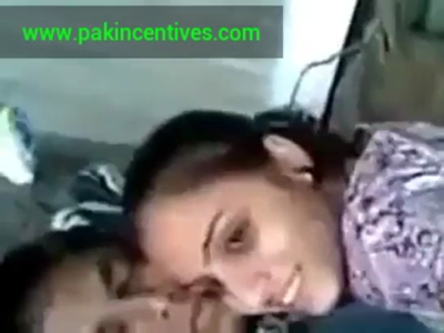 desi Indian beauty kissing and smooching